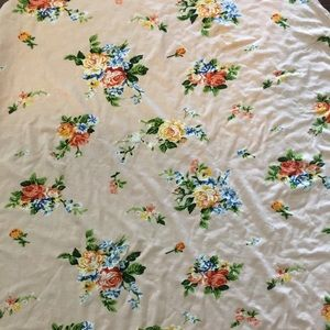 Light Pink Floral Nursing Cover, multi use cover